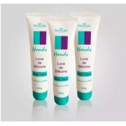 kit 3 Creme Hidratante para as Mãos de Aloe Vera 100g