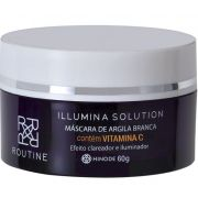 MASCARA DE ARGILA CLAREADORA ILLUMINA SOLUTION ROUTINE