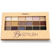 Paleta de Sombras BeStylish 18 cores Ruby Rose