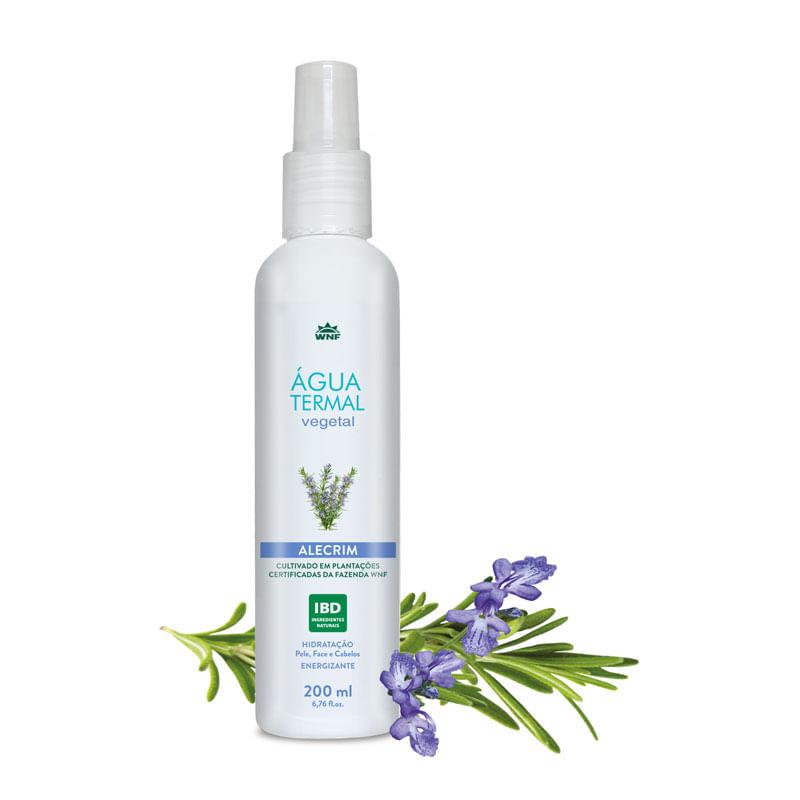 Agua Termal Vegetal Alecrim Vegana 200ML - wnf