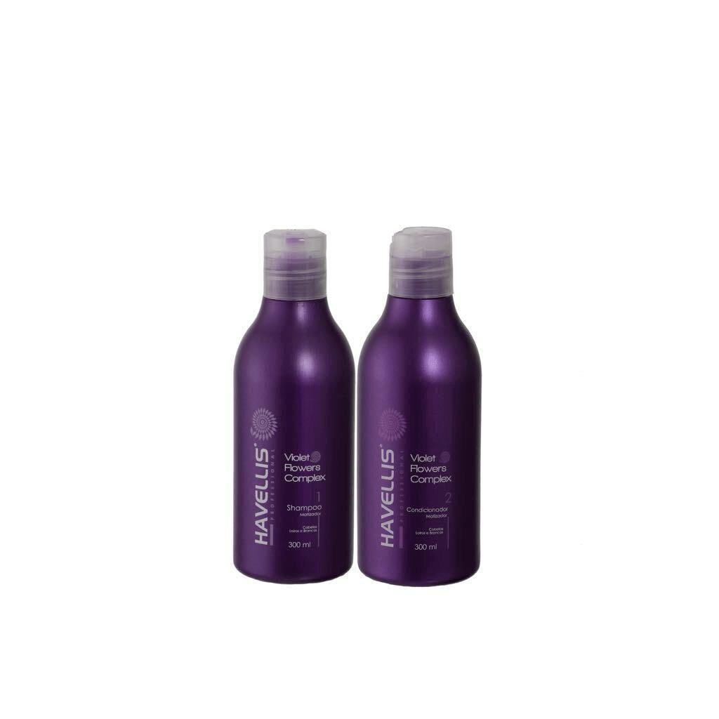 Kit Matizador  Shampoo e Condicionador Havellis 300ml