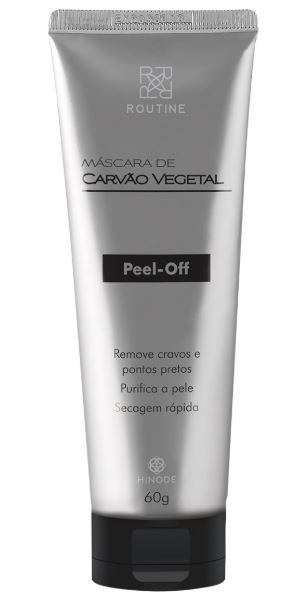 MASCARA CARVÃO ATIVADO PEEL OFF ROUTINE