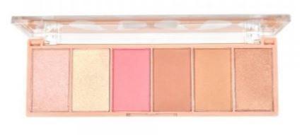 Paleta de Iluminador, Blush e Bronzer Ruby Rose