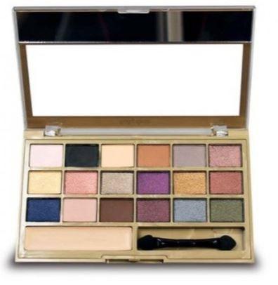Paleta de Sombras BeVelvet 18 cores