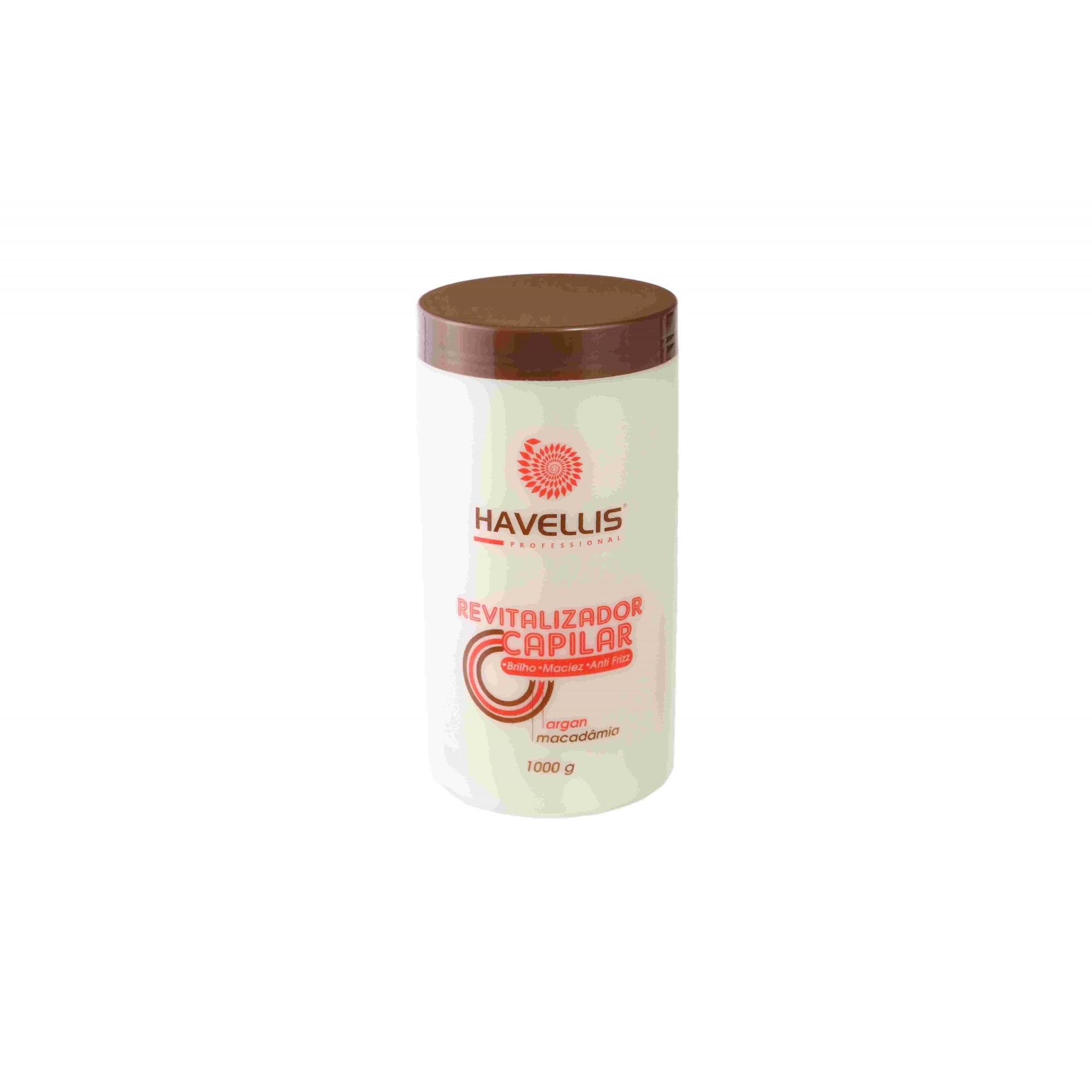 Mascara De Reconstrução  - Revitalizador Capilar 1Kg Havellis