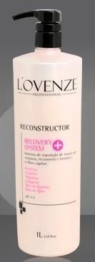 Repositor De Massa Capilar - Recovery System - Reconstrutor  1L - Lovenze