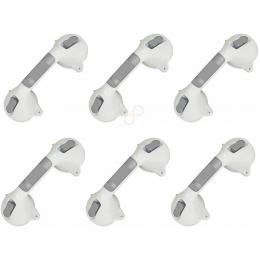 6 Barras de Apoio para Banheiro com Ventosa Segurança p/Idosos Prana