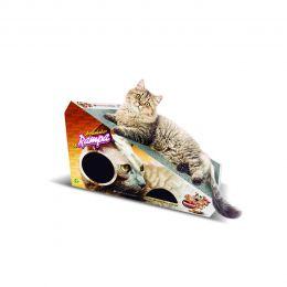Arranhador para Gatos Rampa Brinquedo com 2 Bolinhas Furacão Pet