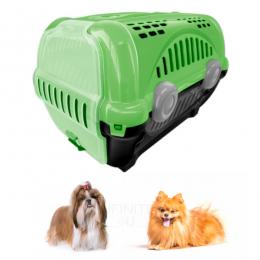 Caixa Transporte Cães Gatos Pets N1 até 8 Kg Furacão Pet