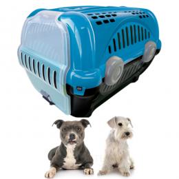 Caixa Transporte Cães Gatos Pets N3 até 18 Kg Furacão Pet