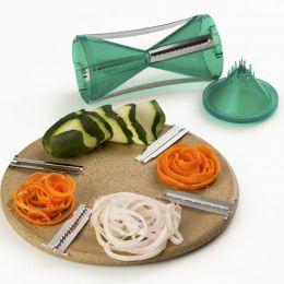 Cortador De Vegetais Abobrinha Legumes Espiral Prana