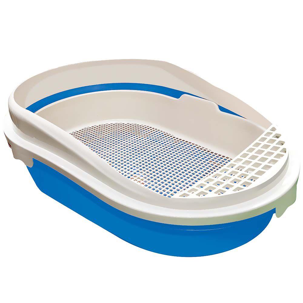 2 Banheiras Caixa De Areia Inteligente Gato 4 Peças Furacão Pet