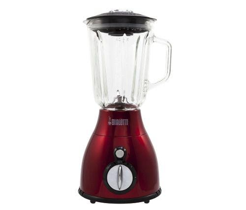 Liquidificador Bialetti Blender 600w Copo De Vidro Vermelho