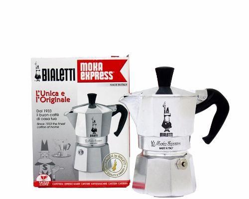 Cafeteira italiana Moka express - 3 xícaras Bialetti