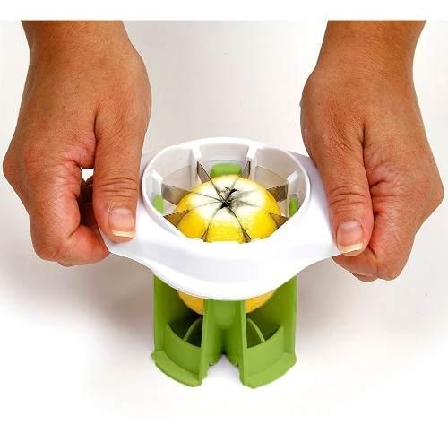Fatiador de limão para caipirinha e saladas 8 pedaços Prana