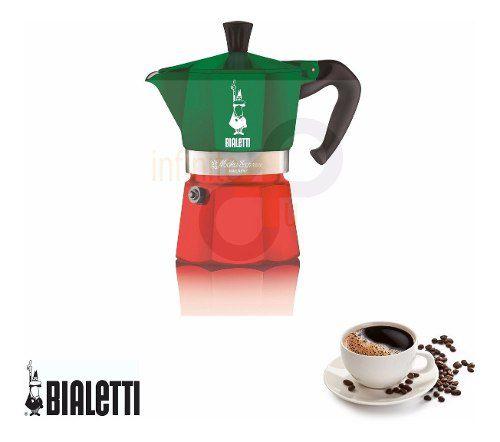 Cafeteira Italiana Bialetti 6 xícaras Itália Moka Original