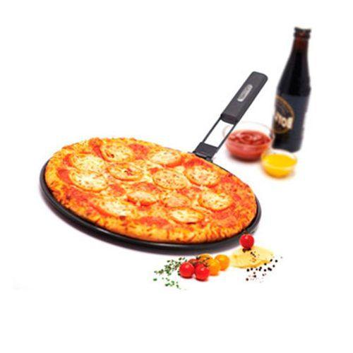 Grelha de Pizza Prana Antiaderente 33 Cm Cabo Removível