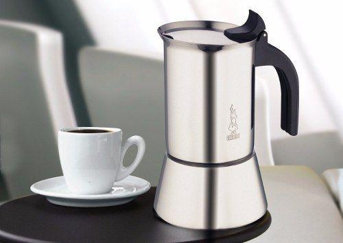 Cafeteira Italiana de Inox Vênus - 4 xícaras Bialetti