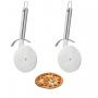 2 Cortador pizza Carretilha Aço Inox Premium Amsterdam BSF