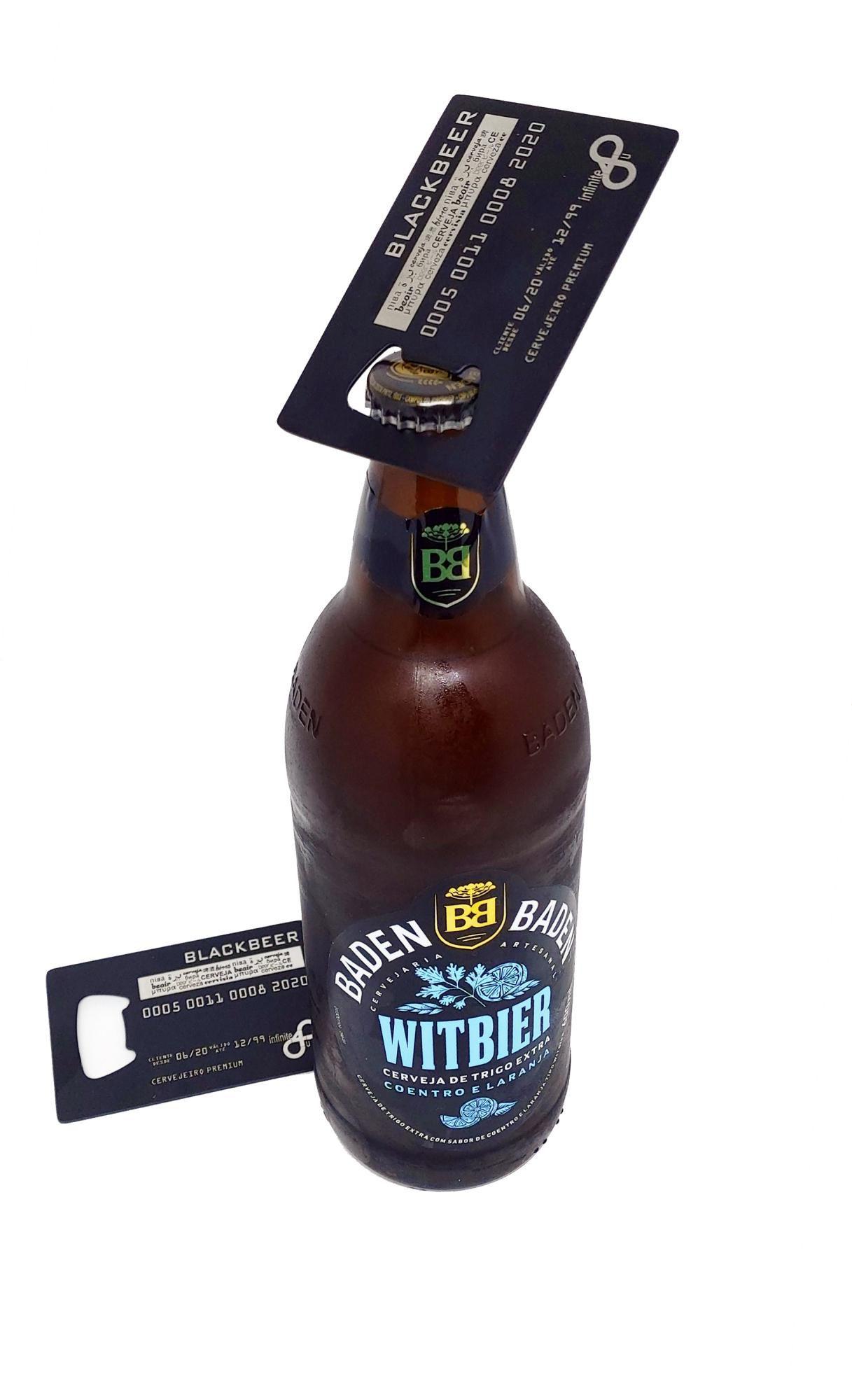 Abridor de Garrafa Cartão de Crédito Abra
