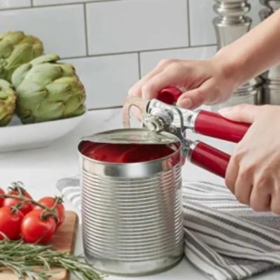 Abridor de latas e garrafas kitchenaid manual vermelho