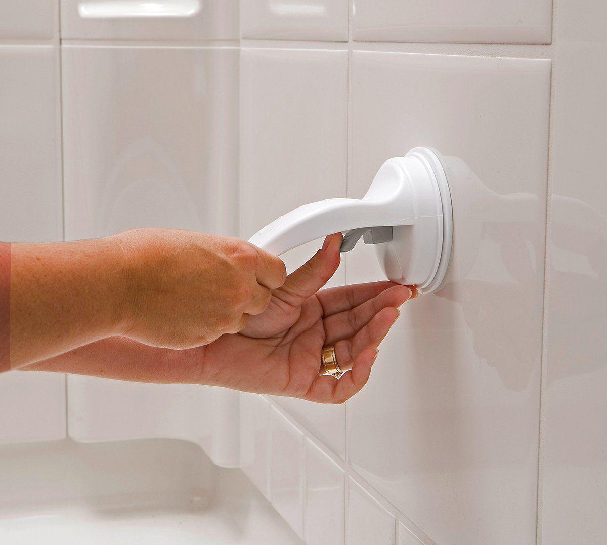 Apoio de pé com Suporte por Ventosa de banheiro para depilação Prana