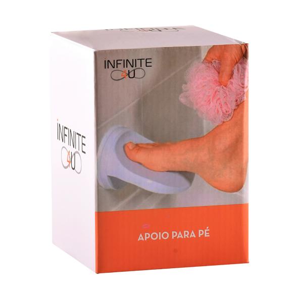 Apoio De Pé Suporte de Banheiro Depilação Ventosa INFINITE4U