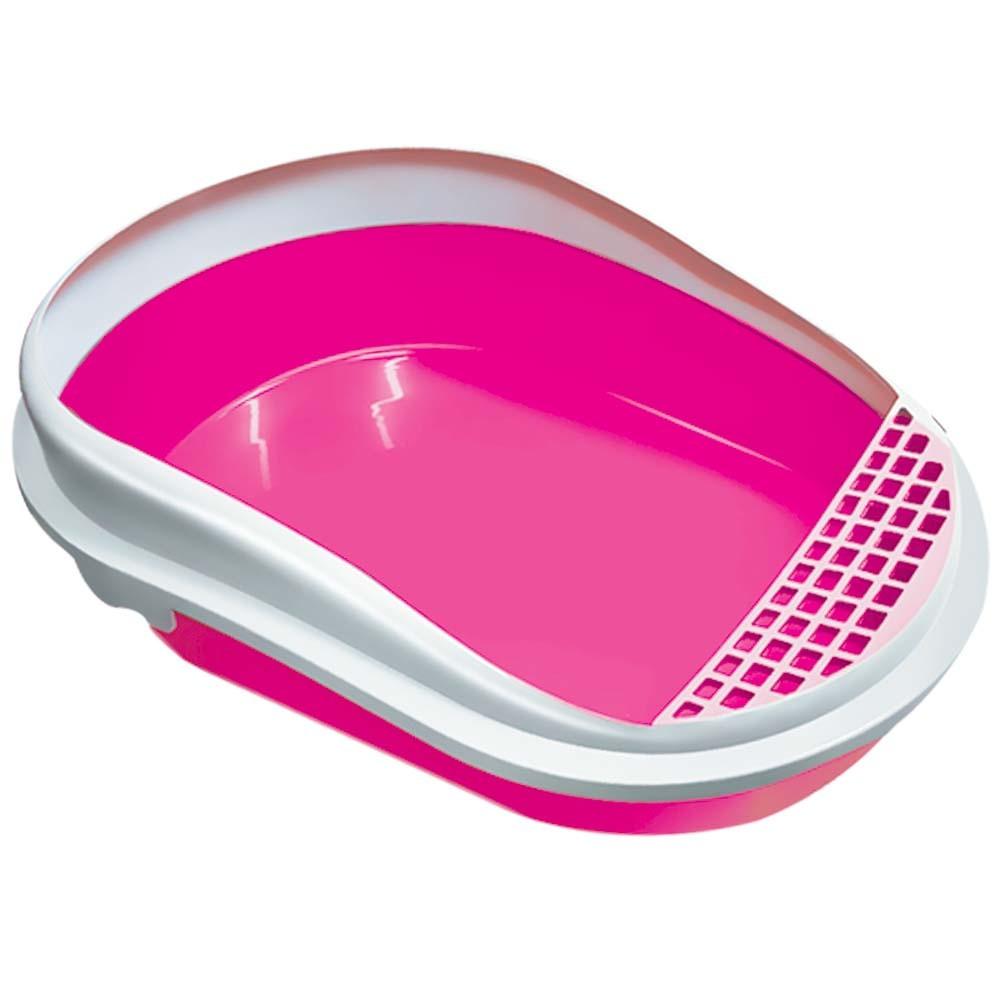 Banheiro Caixa Areia Gatos Smart e Pá Coletora Furacão Pet
