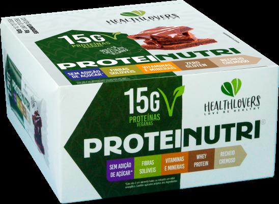 Barra Whey Protein Caixa c/ 12 unidades HealthLovers