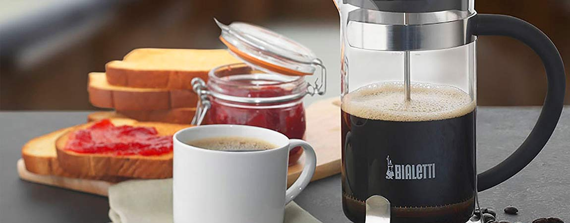 Cafeteira francesa French Press Simplicity 1L Bialetti
