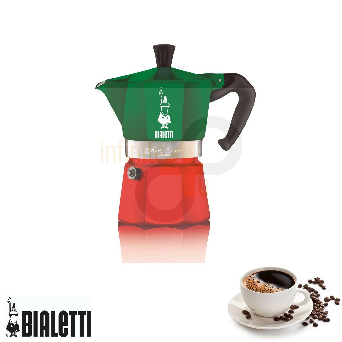 Cafeteira Italiana Moka Express Itália 3 xícaras Bialetti