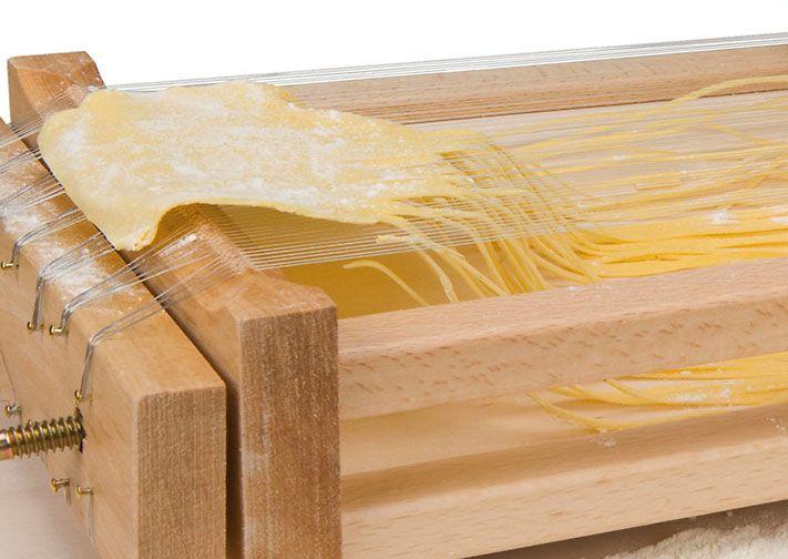 Chitarra para Cortar Spaghetti Com Rolo De Massa Italiana Eppicotispai