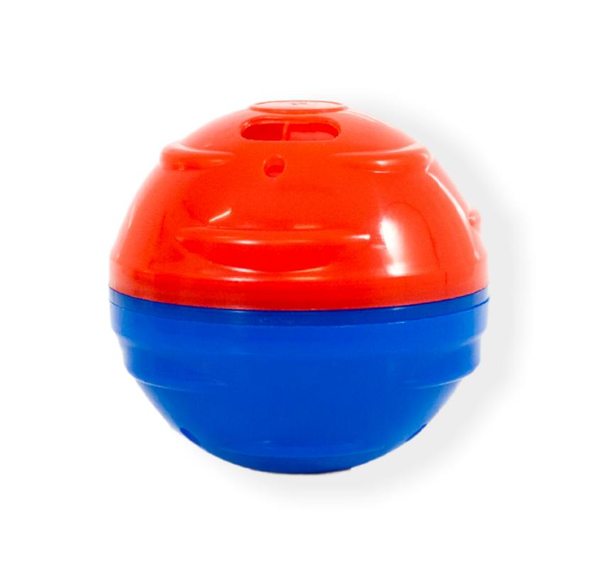 Comedouro + Brinquedo 2 Em 1 Mini Pet Ball Pet Games