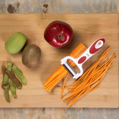 Descascador Peeler De Legumes e Frutas 3 Lâminas em 1 Prana