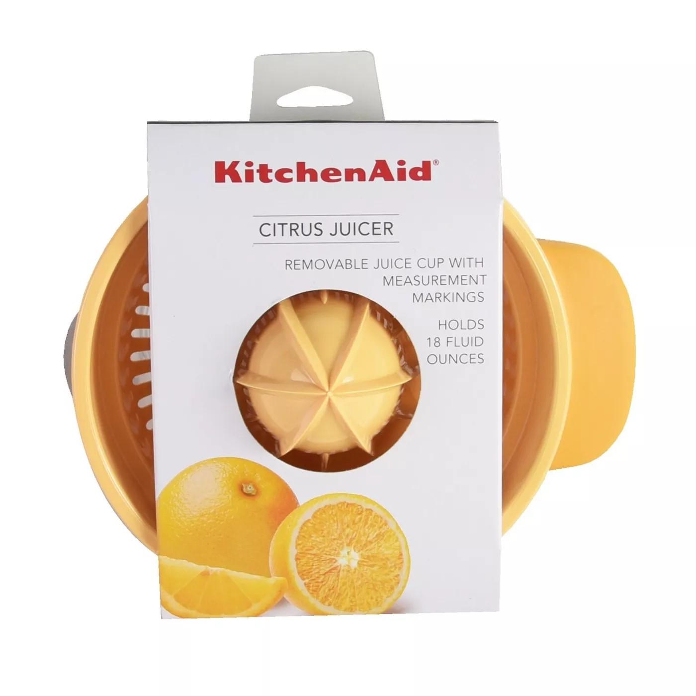 Espremedor Limão Laranja Suco Manual Juicer 530Ml KitchenAid