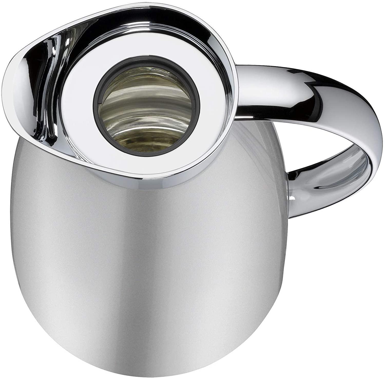 Garrafa Térmica 1 L Parede Dupla Suco Café Alfi Ice Silver