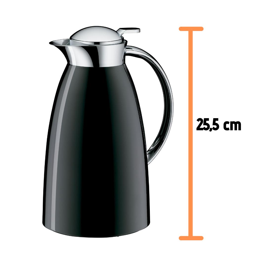 Garrafa Termica 1 L Parede Dupla Suco Café Alfi Preta