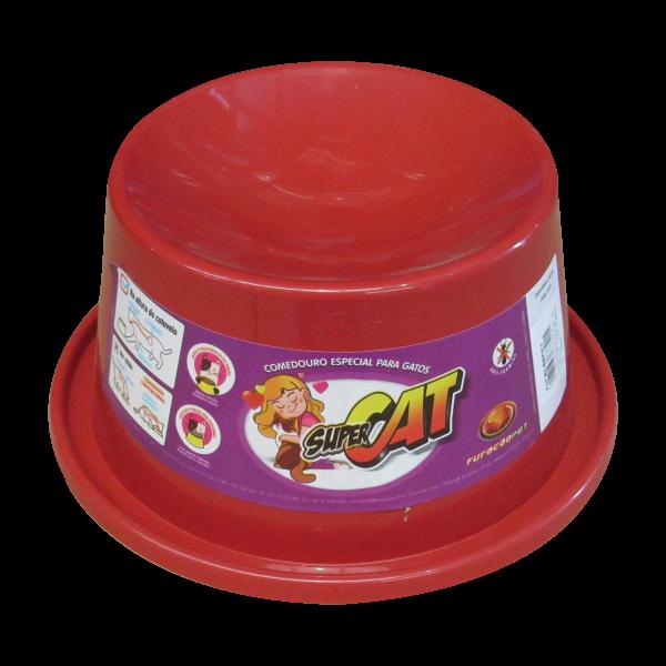 Kit 2 Comedouro Ergonômico p/ Gatos Antiformiga Furacão Pet