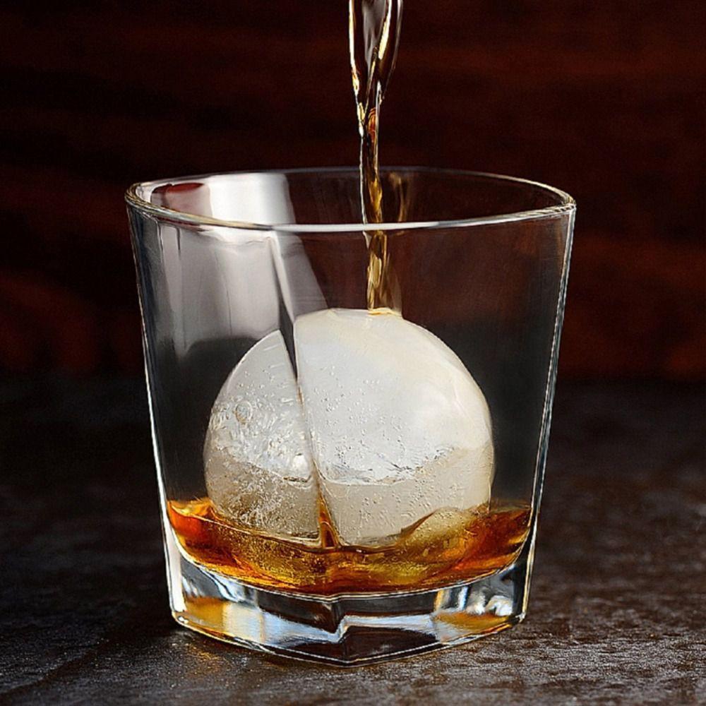 Kit 2 Formas De Gelo Ice Ball Esfera Bola Whisky Vodca Drink Prana