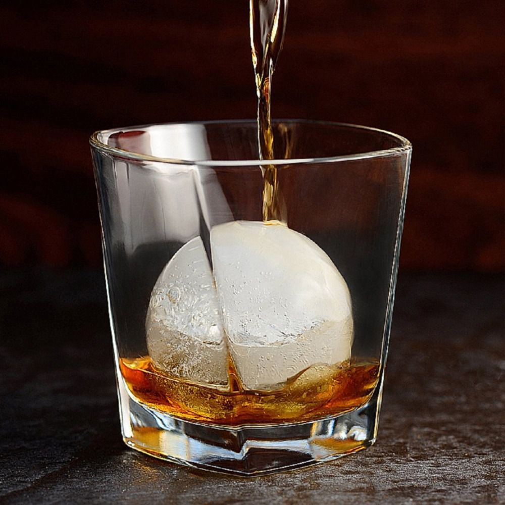 Kit 3 Formas De Gelo Ice Ball Esfera Bola Whisky Vodca Drink Prana