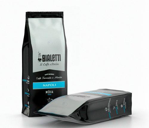 Kit Bialetti Cafeteira Italiana Brikka 4 Xícaras e Cremeira Tuttocrema e Brinde