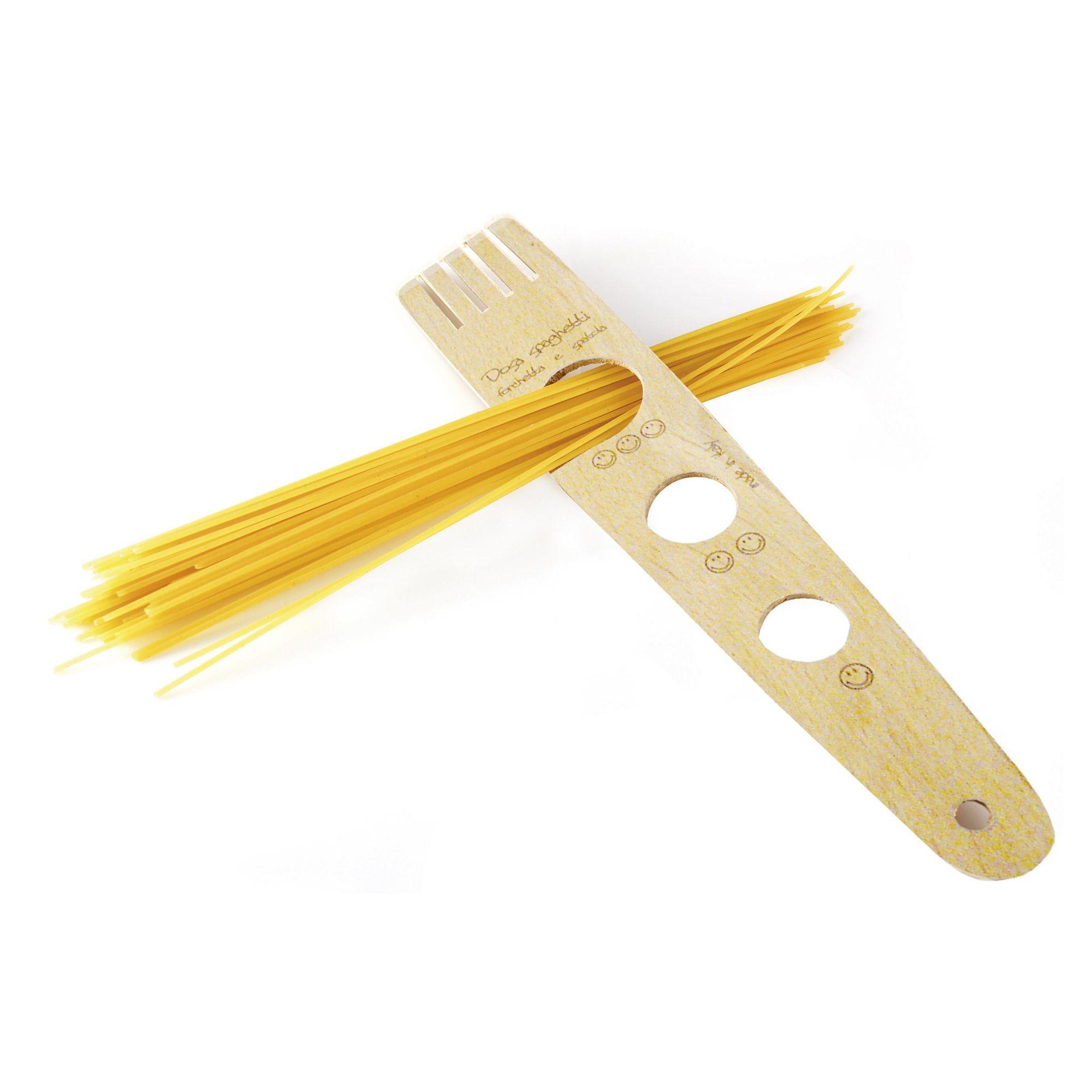 Medidor de Macarrão Espaguete Spaghetti Porções Madeira Eppi 30 cm