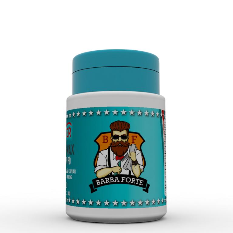 Pomada Modeladora em Pó Barba Forte Powder Wax Hipster 15 g