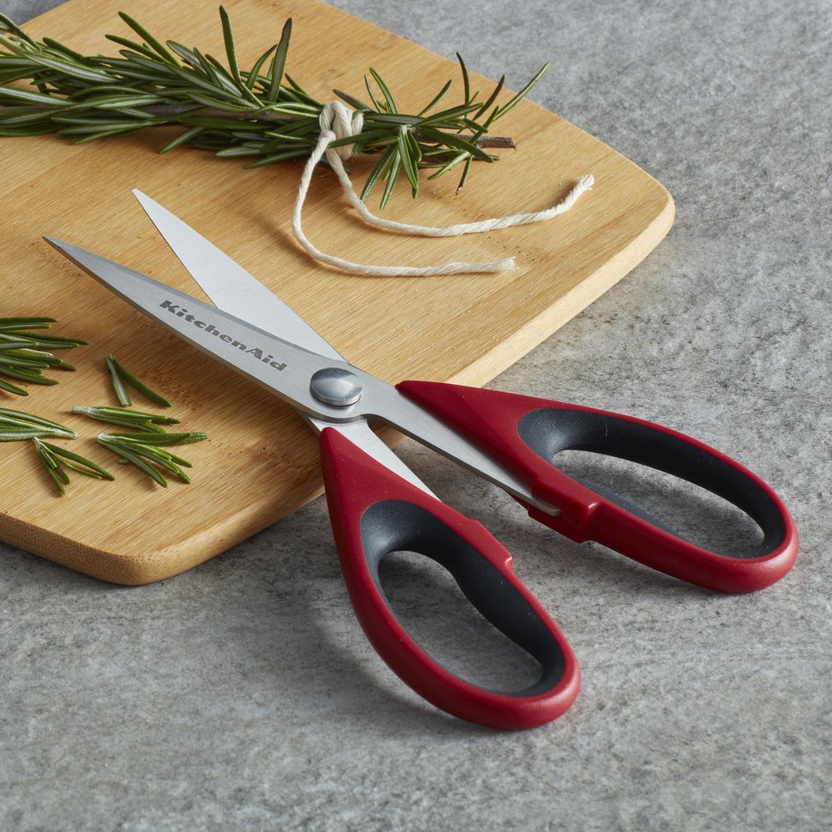 Tesoura Cozinha Universal KitchenAid Inox e Capa de Proteção