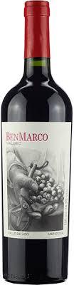 VINHO BENMARCO MALBEC 750ML