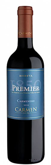 VINHO CARMEN PREMIER CARMENERE 750ML