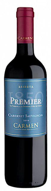 VINHO CARMEN PREMIER RESERVA CAB SAUV 750ML