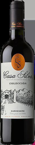 VINHO CASA SILVA COLECCION CARMENERE 750ML