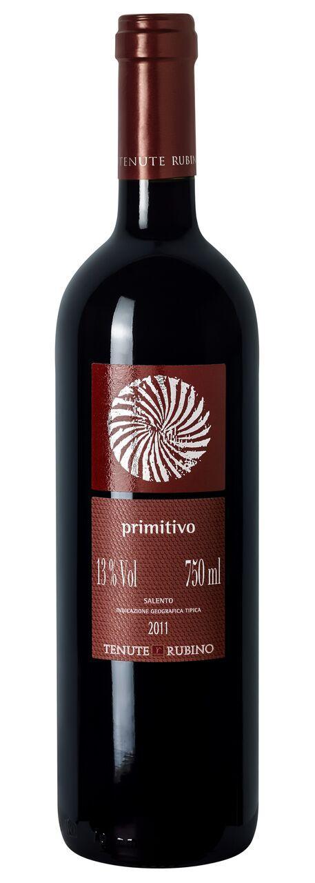 VINHO TENUTE RUBINO PRIMITIVO SALENTO 750ML