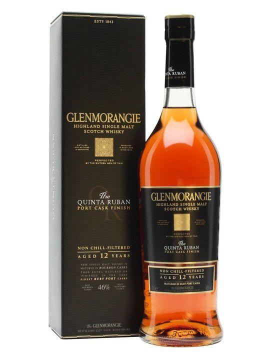 WHISKY GLENMORANGIE QUINTA DA RUBAN SINGLE MALT 12A 750ML
